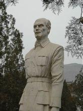 华北军区烈士陵园白求恩像