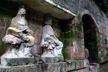 璧山文庙雕像