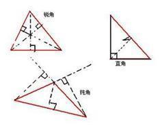 直角三角形高怎么画图案图片