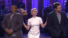 Scarlett Johansson做客Saturday Night Live