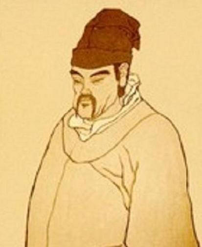 宋代诗人张耒简笔画