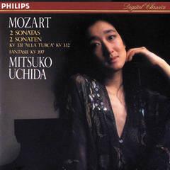 mozart: piano sonatas nos. 11 & 12/fantasia in d minor