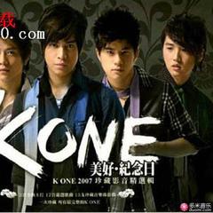 k one 2007 珍藏影音精选辑(美好·纪念日)