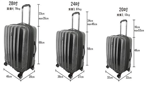 一般买行李箱买多大的合适_行李箱一般买多大的