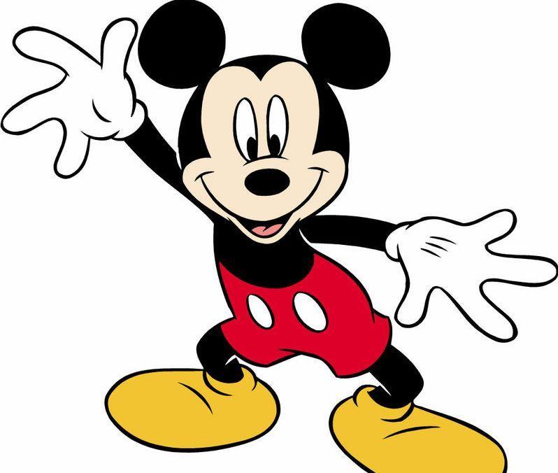 米老鼠是一只拟人化的黑色老鼠,拥有一对圆形的耳朵,且通常穿着红色