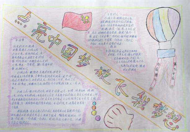 小学生手抄报励志方面的怎么做图片
