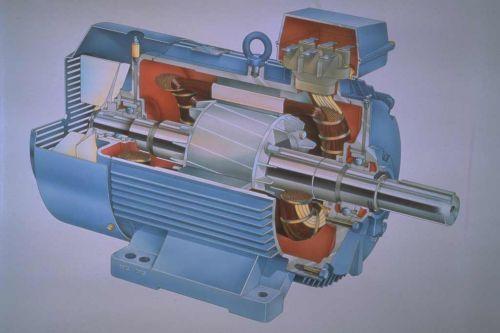 4级48槽电机电源接线图