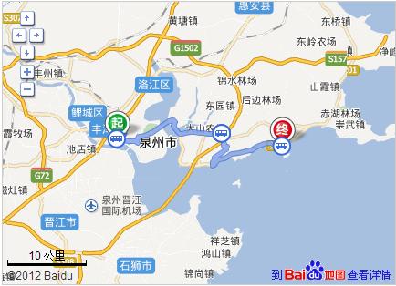 到泉州东海上实海上海怎么走坐几路公交车