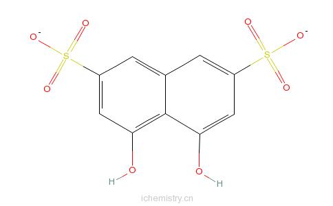 变色酸二钠分子结构