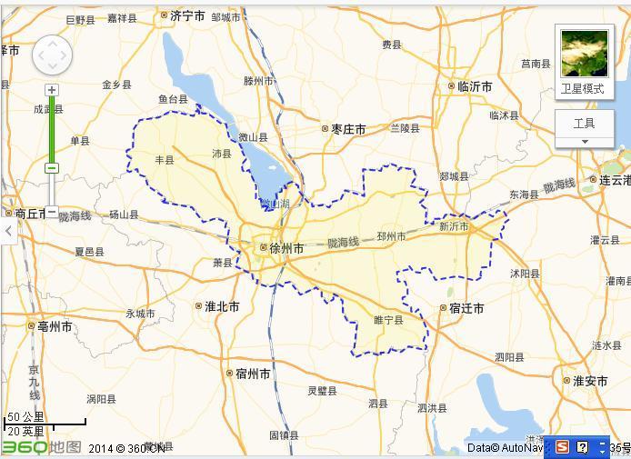 徐州旅游手绘图