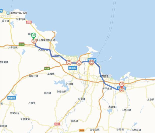 蓬莱机场到牟平长途车站的详细发车时间