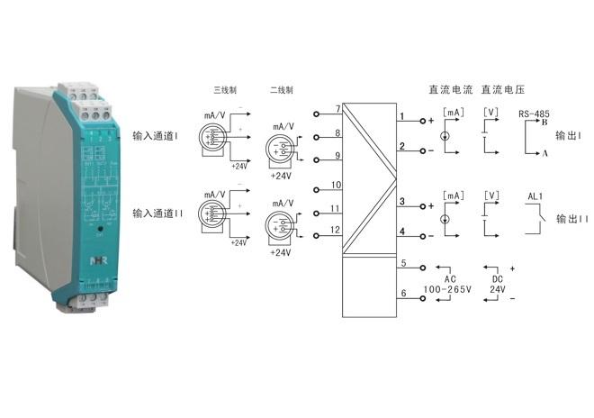 配电器和接线图