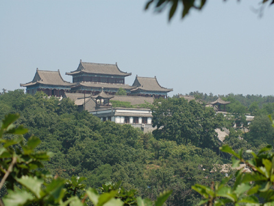三元宫始建于明末清初,位于大长山岛三官庙村,后来被毁.