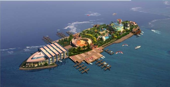 沂河南湖心岛功能定位确定,未来这里将被打造成为临沂的水上运动中心
