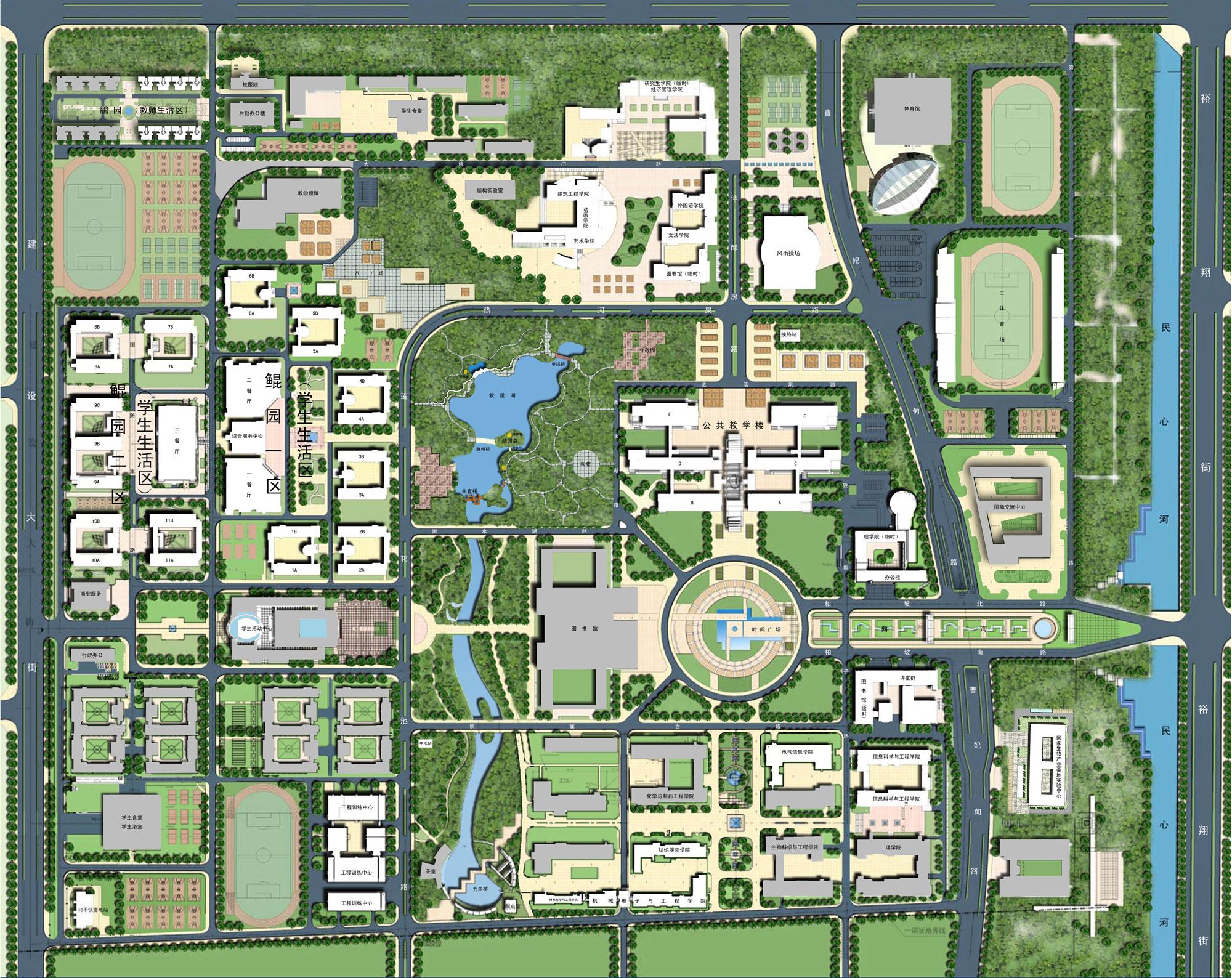 大学教室设计平面图