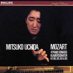 mozart: piano sonatas nos. 2 - 5
