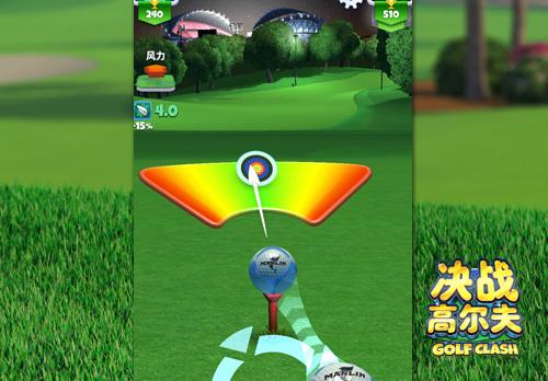 《决战高尔夫》用各有千秋的道具享受击球的快乐!