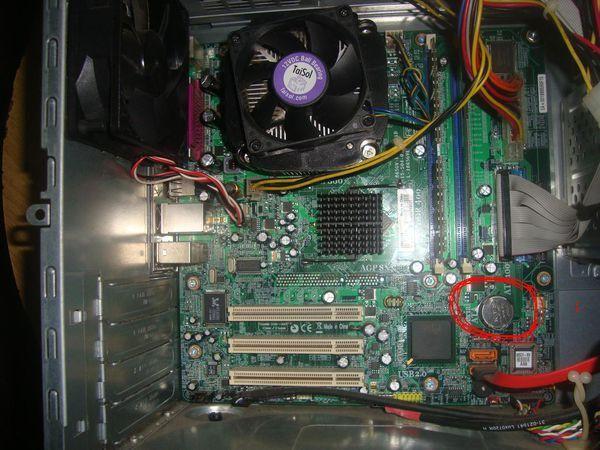 計算機主板電池在哪里?如何更換電腦主板電池