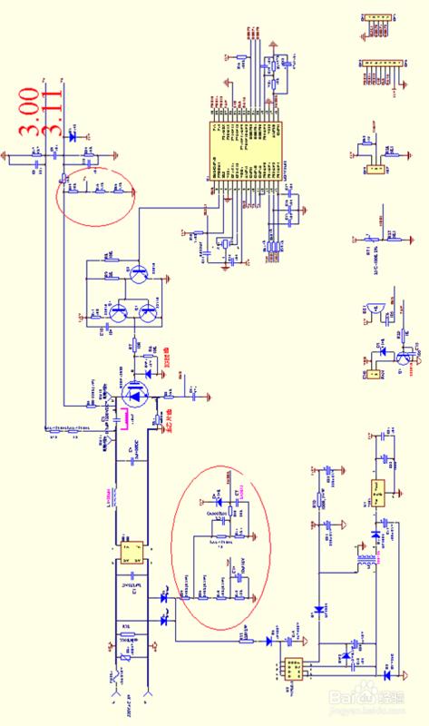 美的电磁炉电路图._360问答