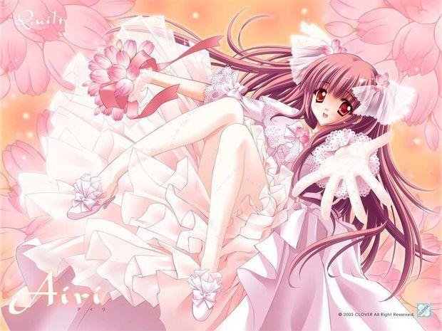 冰蓝色,银蓝色或粉色长发的动漫女生,要漂亮的,纯洁的 爱问网图片