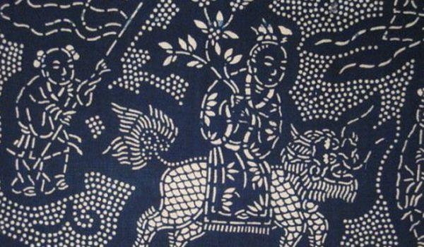 特别是独特的型版设计制作是国内外印染工艺没有的构思,为物质文化史