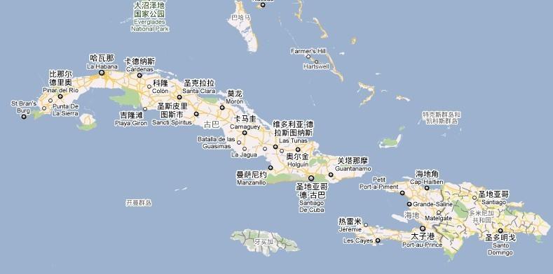 菲律宾群岛地形图