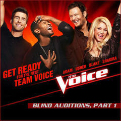 2013 march 25: blind auditions, part 1 - singles