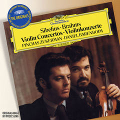 sibelius: violin concerto in d minor, op.47 / beethoven: violin romance no.1 in g major / brahms: violin concerto in d, op.77