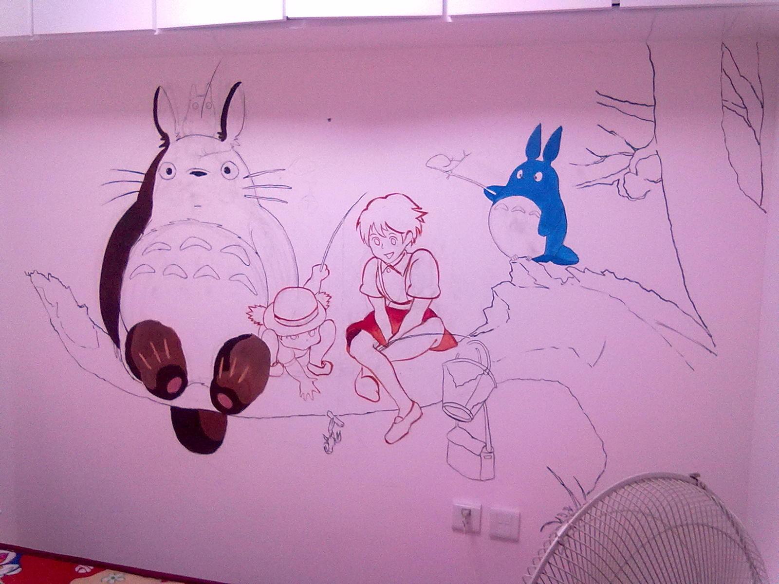 艺术墙绘图片大全